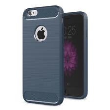 Funda Aluminio Aspecto De Carbono teléfono móvil smartphone iphone 7/7s CON