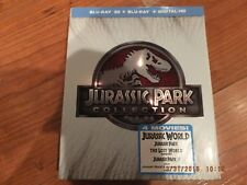 Jurassic Park Collection Blu-ray bluray 2015, 4 Discs, no digital codes no 3D