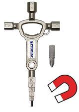 PROMAT Schaltschrankschlüssel Stufenschlüssel 3-kant 4-kant 829773