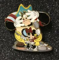 Disney Cruise Pin Minnie Mouse And Pirate Pete
