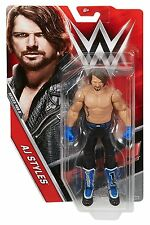 WWE SERIES #68 B AJ STYLES SUPERSTAR BASIC ACTION FIGURE WRESTLING TOY BENT CARD