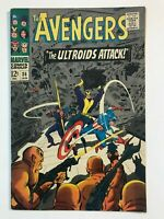 Avengers #36 - Ultroids Black Widow Captain America Marvel 1967 Comics