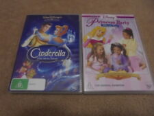 Cinderella DVD 2 disc special edition plus Disney Princess Party Vol.2 Dress Up