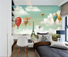 3D Sky Balloon 83 Wallpaper Mural Paper Wall Print Wallpaper Murals UK Carly