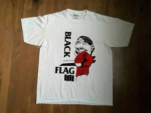 Black Flag My War Band Punk Harcore Short New Design T-shirt White Cotton Tee