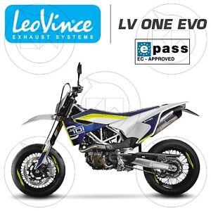 TERMINALE DI SCARICO LEOVINCE LV ONE EVO HUSQVARNA 701 SUPERMOTO EURO4 2017-2019