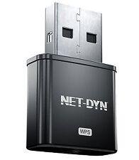 NET-DYN Mini USB Wireless WiFi Adapter, Top Internal Antenna Model, 300Mbps, s