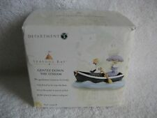 DEPT 56 - Seasons Bay - GENTLY DOWN THE STREAM - NEW - #53418 - Original Seal