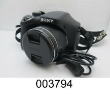 Sony Cyber Shot DSC-H300 20.1MP Digital Camera - Black
