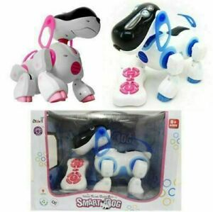 Remote Control Smart Dog Interactive Puppy Learn Play Robot Walking Talking Toy