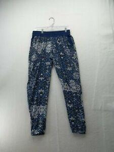 "Ultra Flirt Blue Legging Pants size L Polyester Waist 30""  Inseam 31"""