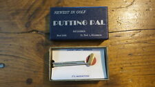 Vintage NOS PUTTING PAL MAGNETIC TIEBAR Tie Clasp GOLF BALL MARKER
