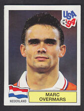 Panini - USA 94 World Cup - # 393 Marc Overmars - Nederland (Green Back)