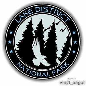 2x LAKE DISTRICT NATIONAL PARK Car Vinyl Sticker WATERPROOF #2369