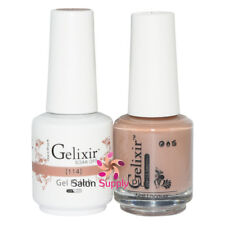 GELIXIR Soak Off Gel Polish Duo Set (Gel + Matching Lacquer) - 114