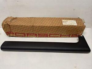 Genuine Porsche 911 964 90-94 LH Knee Protection Strip Black 9115520690105T NOS