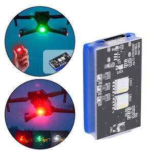 Drone Strobe Lights Nachtlicht 10 Modi wiederaufladbar für DJI Mavic Air 2S