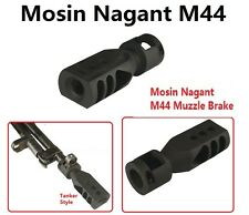 Reduce Recoil Mosin Nagant M44 All Steel Tanker Style Muzzle Brake Bolt On