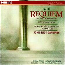 NEW Fauré: Requiem; French Choral Works (Audio CD)