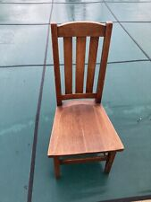 STICKLEY BROTHERS QUAINT FURNITURE Arts Crafts Chair As Is