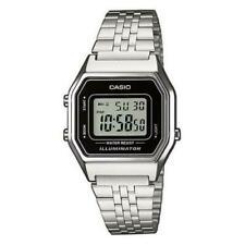 Casio Uhr LA680WEA-1EF Unisex Armbanduhr Digitaluhr Silber-farben Uhr Watch Neu
