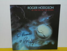 LP - ROGER HODGSON - IN THE EYE OF THE STORM - SIGNIERT