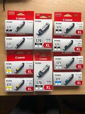 Ink Canon Pixma, 570 PGBK XL, 571 Y XL, 571 GY, 571 BK XL, 571 BK XL, 57 XL
