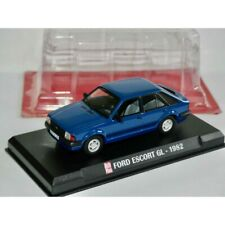 FORD ESCORT GL 1982 Bleu AUTO PLUS 1:43