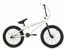 "New FRAMED Elite BMX 20"" Bike Stealth Freestyle White"