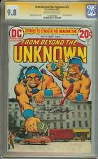 FROM BEYOND THE UNKNOWN #22 SS CGC 9.8 SIGNED NICK CARDY HIGHEST GRADED