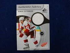 2005 SPGU Henrik Zetterberg  jersey card  Red Wings  jsy gu    af-hz