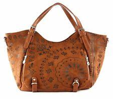 Desigual Pulsar Rotterdam Shoulder Bag Schultertasche Tasche Brown Sugar Braun