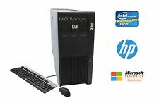 HP Z800 Workstation Xeon 12 Core 2.93GHz 64GB RAM 4TB HD 2x Quadro 5000 Win 10