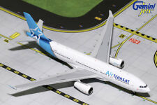 GEMINI JETS AIR TRANSAT AIRBUS A330-200 1:400 DIE-CAST MODEL GJTSC1744 IN STOCK