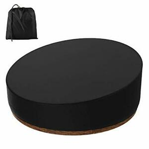 Patio Daybed Cover Round, Rattan Daybed Cover Waterproof Dustproof Patio Garden