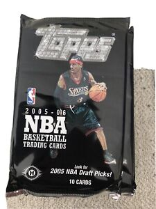2005 Topps Basketball Hobby Pack