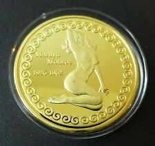 MARILYN MONROE - THE PLAYBOY QUEEN ON 0.999 GOLD COIN