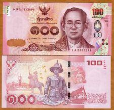 Thailand, 100 Baht, 2015, Pick New, UNC
