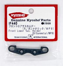 Kyosho IF440 Front Lower Sus. Holder (R/Gunmetallic/MP9)