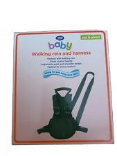 Boots Baby Walking Rein And Harness - Black