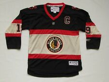 Chicago Blackhawks Jersey Reebok Youth L/XL Throwback Winter Classic #19 Toews