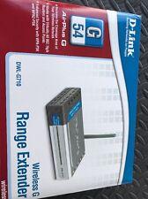 D-link Dwl-g710 Range Extender