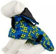 Top Paw 175409 Dogs Blue & Yellow Dots Comfortable Rain Coat Size Large