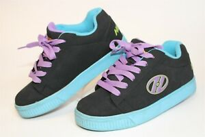 Heelys Kids Youth 5 36.5 Sneakers Lace Up Straight Up Roller Skate Shoes 770045