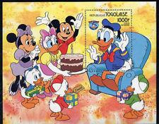 Togo, Sc #1239, MNH, 1984, Donald, Minnie, Mickey, Disney, S/S, DI258F