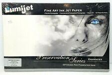 "LUMIJET 11x17"" Fine Art Ink Jet Paper Preservation Series 20 sheets - Parchment"