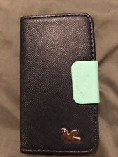 Brand New!  Black Wallet-Cover For iPhone 4G/4GS