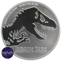 NIUE 2020 - 2$ NZD - Jurassic Park™ - 1oz (once) argent 99,9‰ - Bullion Coin