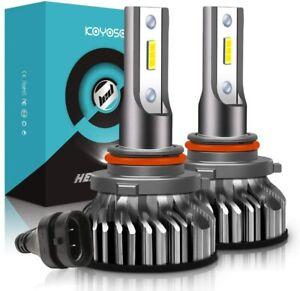 Ampoule 9005 LED, 10000LM HB3 Phares Voiture et Moto, Ampoules Rechange Lampes 6