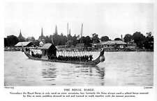 1913 Royal Barge In The Siam Used On State Occasions